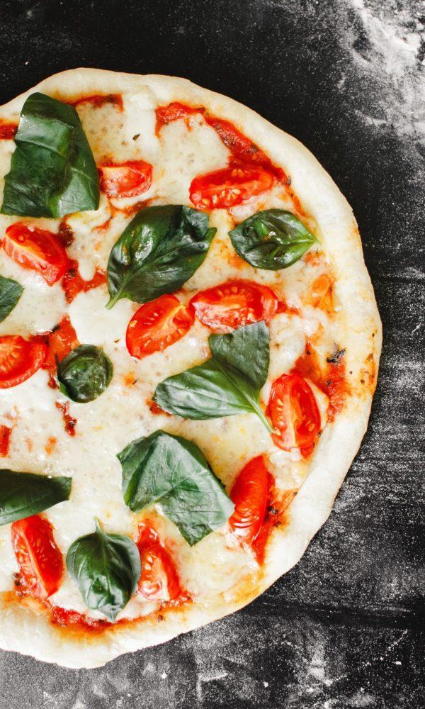 Pizza Fromage Colorée
